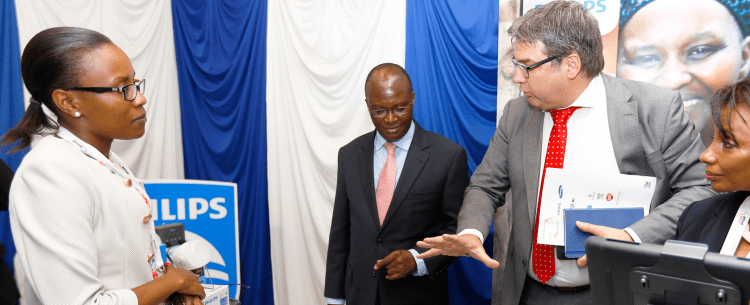 Technology key to scaling up health care in Africa, says Philips boss