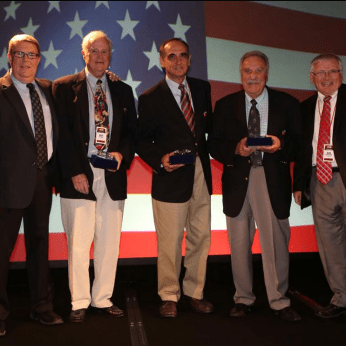 Rich Butera (4th from the left) - 25 Years of Service