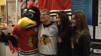 Chicago Blackhawks Special hockey announcement