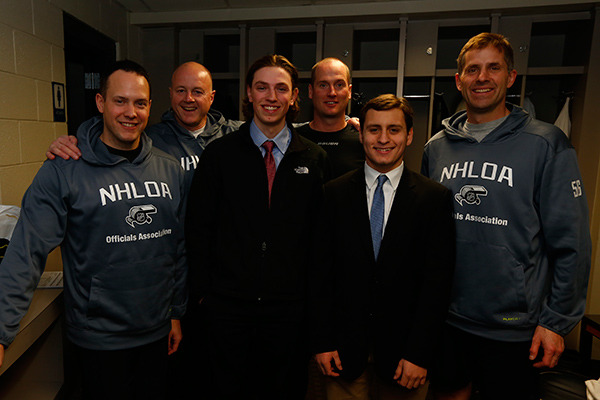 (From left to right) Graham Skiliter, Lonnie Cameron, Quinten Jedd, Kevin Pollock, Max Spiro, Mark Wheler