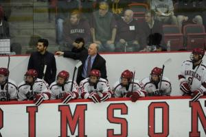 Harvard Men's Ice Hockey vs. Brown - Nov. 7, 2015 - Bright-Landry Hockey Center - Cambridge, Mass.