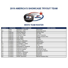 2019 showcase white roster 2