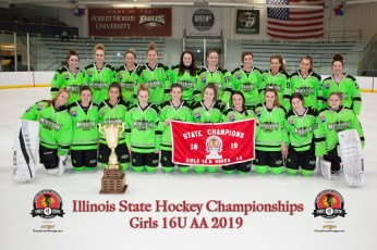 Chicago Mission Girls 16U - 2019 State & Central District Champions