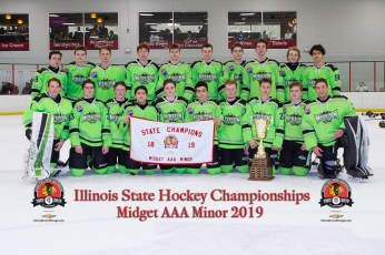 Chicago Mission 16U - 2019 State & District Champions