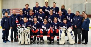 USA National Blind Hockey Team
