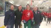 John B. Raith, #17 (New Trier Green) 2017 Boys' Terry J. Stasica MVP Award Recipient - AHAI Boys' All-State Game