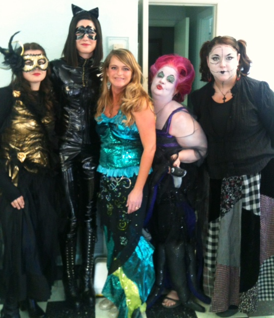 Halloween at the salon