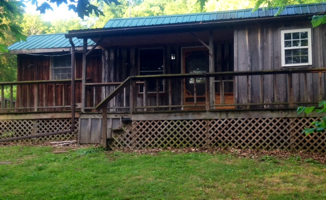 old time cabins