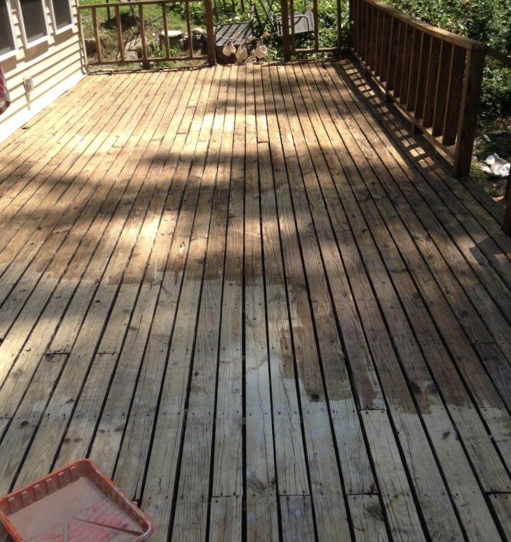 deck water sealer