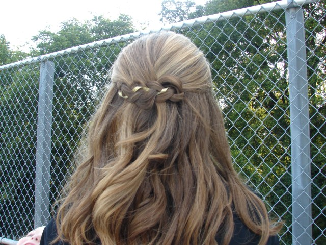 football game hair | show your school pride! ~ a hair in my