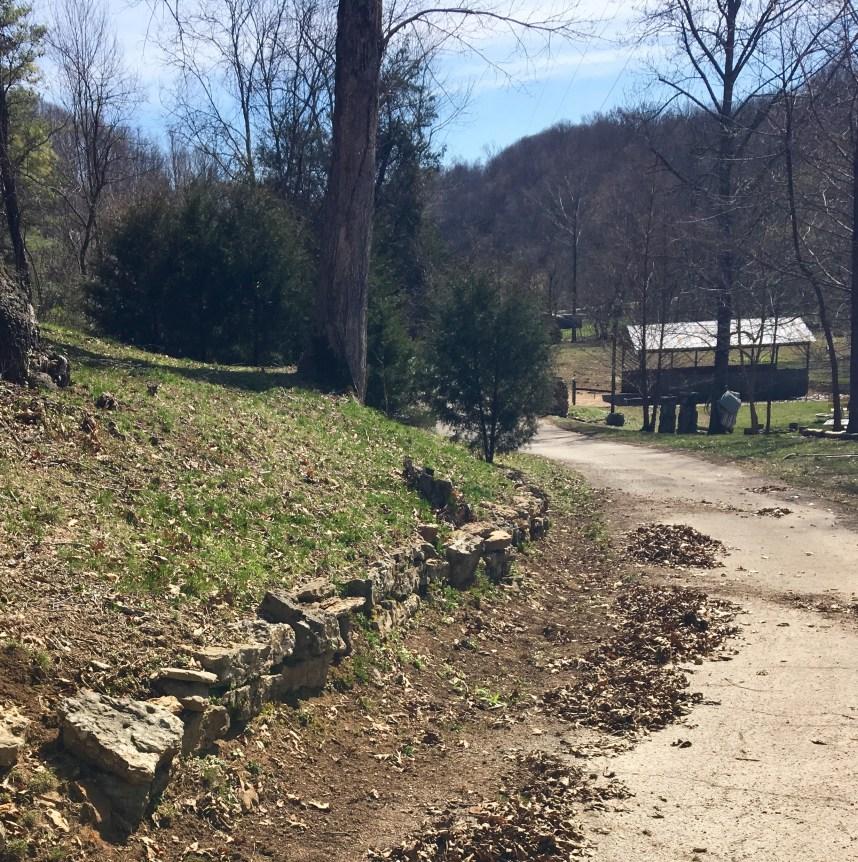creek rock landscaping