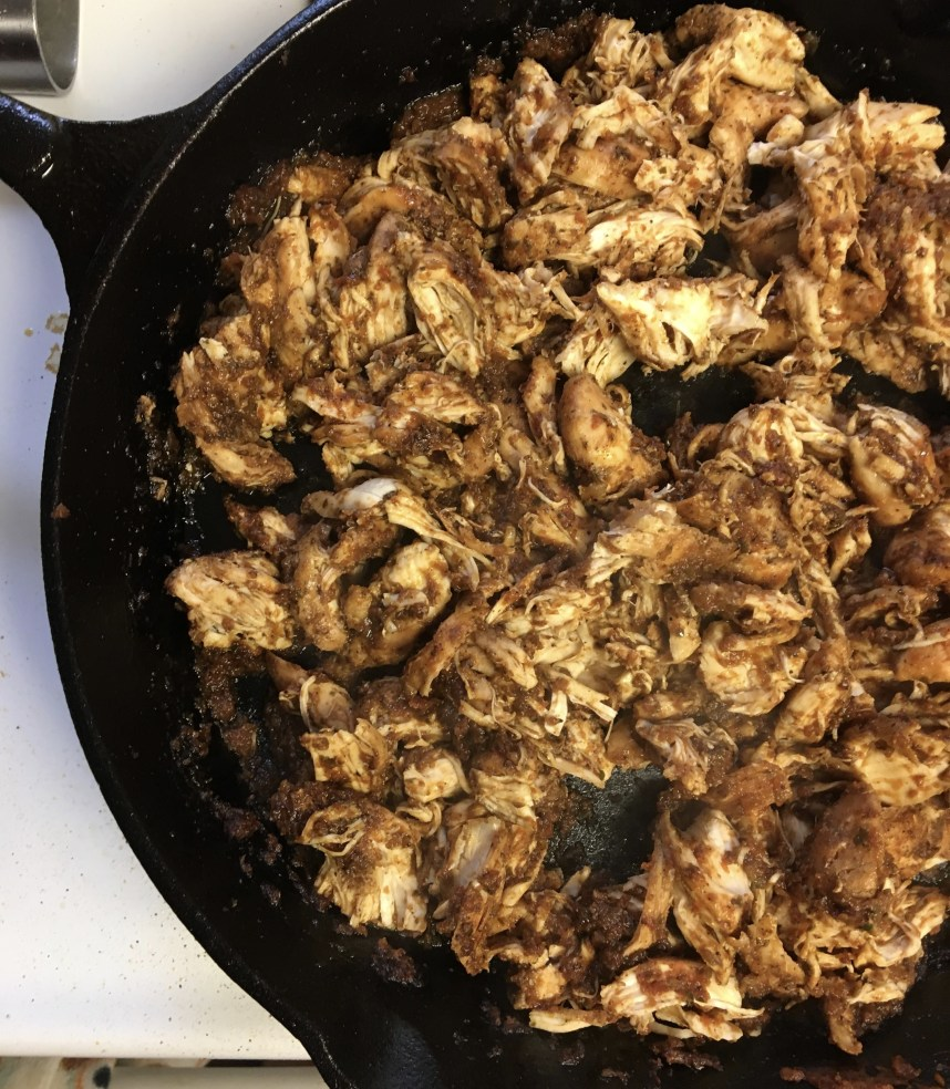 Mexican Chicken For Tacos… Ay Caramba!