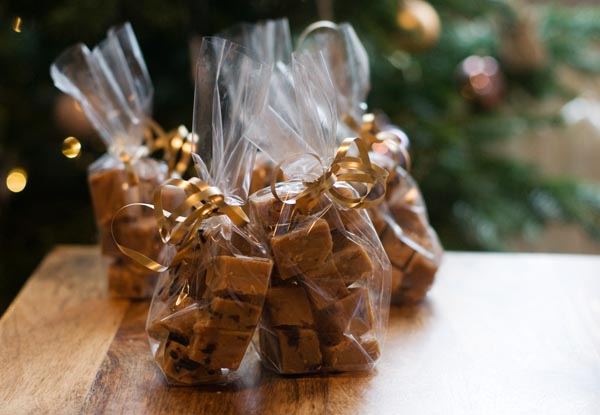 Ginger cherry fudge