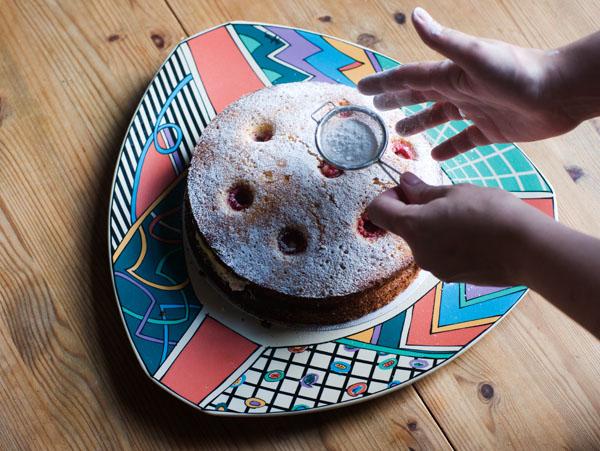 raspberry almond lemon curd cake