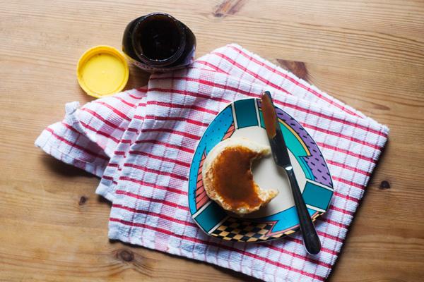 crumpet marmite butter