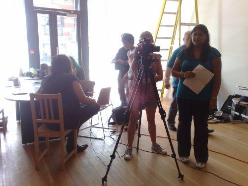 Kaleidoscope Filming 7