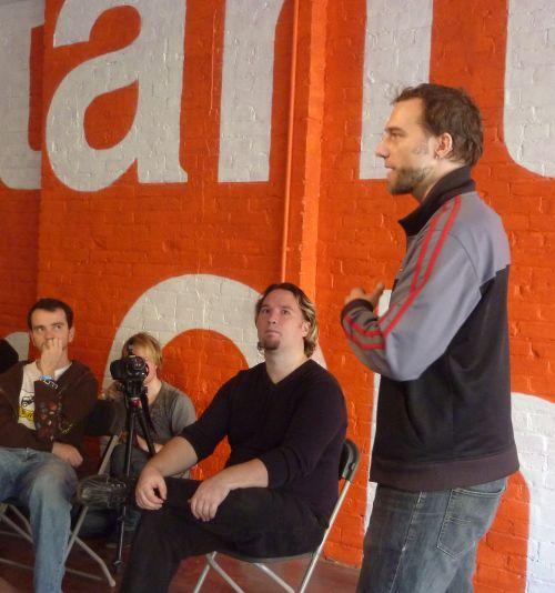 Jon, Riel, Peter, Irwin