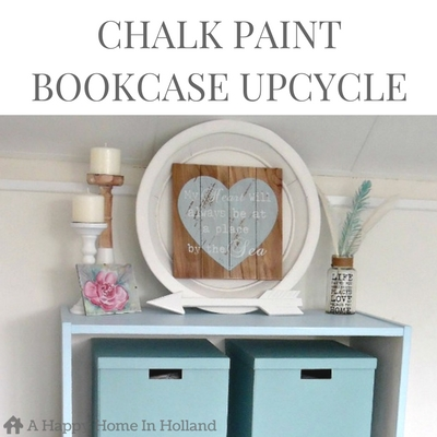 CHALK PAINT MAKEOVER & BEGINNERS TUTORIAL - See how an ugly old office bookcase was transformed into a beautiful storage piece using Everlong chalkpaint and learn how to avoid beginners mistakes.