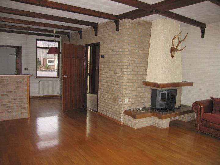 Open Plan Living Room Before Makeover
