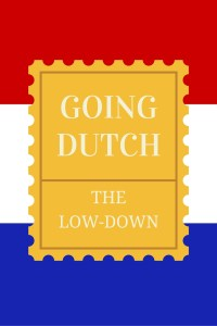 Image of dutch flag plus text - going Dutch