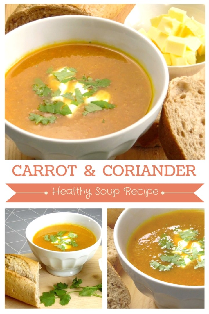 Carrot And Coriander Soup Recipe - So delicious and quick and easy too!