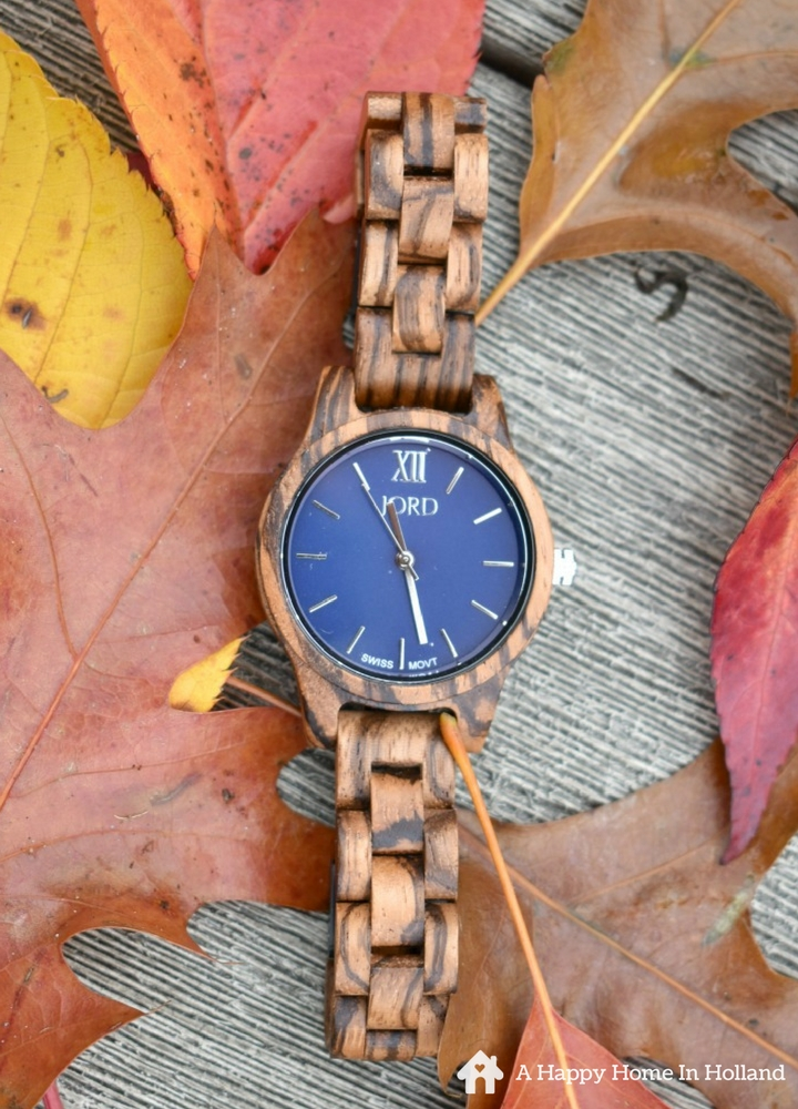 JORD Wooden Watches - Review & Giveaway - Beautiful handcrafted watches made from sustainable wood