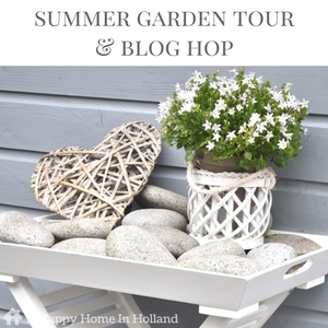 Inspirational Summer Garden Tour & Blog Hop