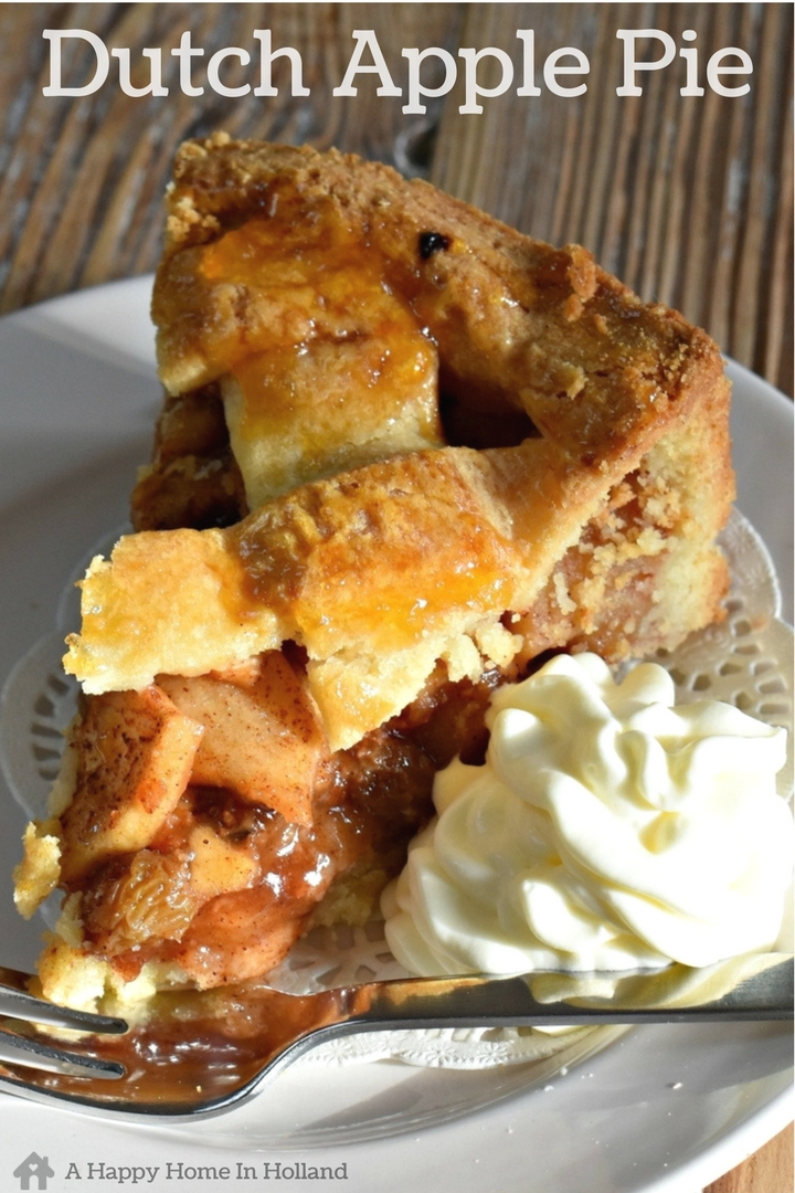 This Dutch Apple Pie (aka Appeltaart) is a national favourite here in the Netherlands. Filled with a delicious mixture of apple, raisin and cinnamon this traditional pie recipe is a guaranteed crowd pleaser!