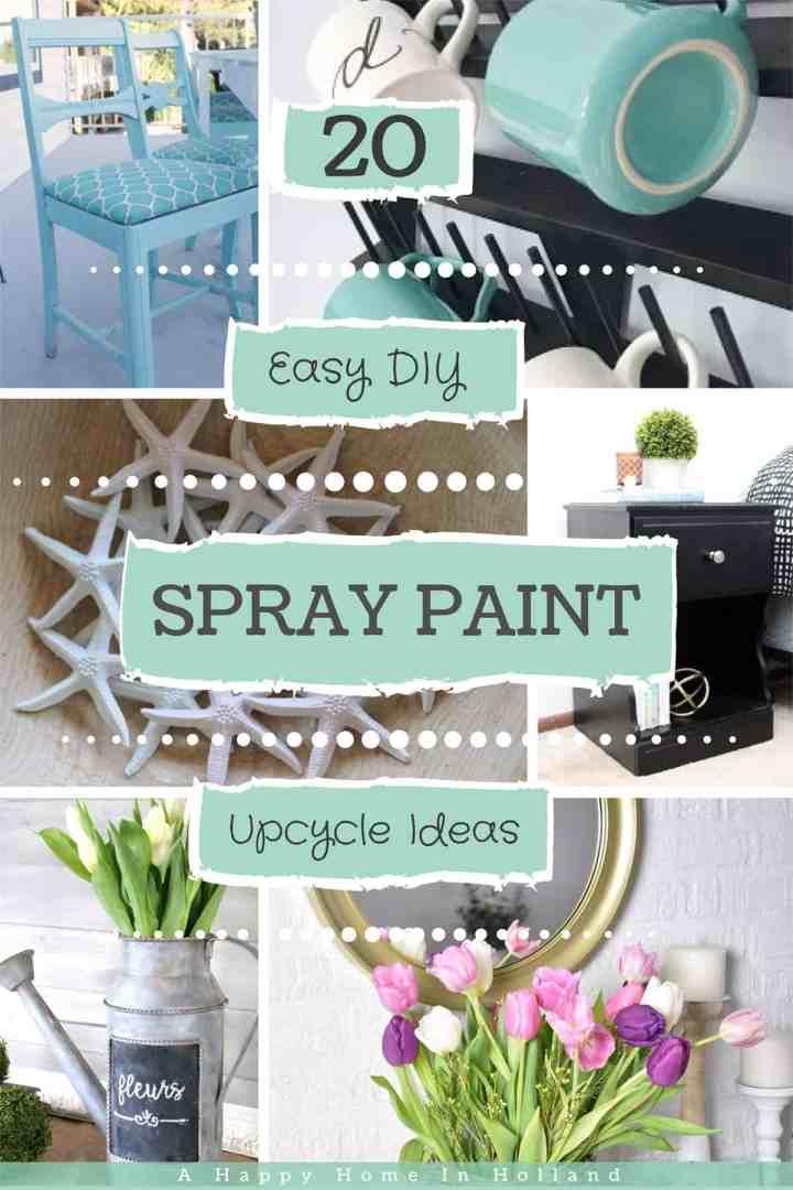 20 Beautiful Diy Spray Paint Furniture Home Decor Upcyling Ideas