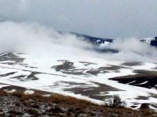Snow cloud shroud falls