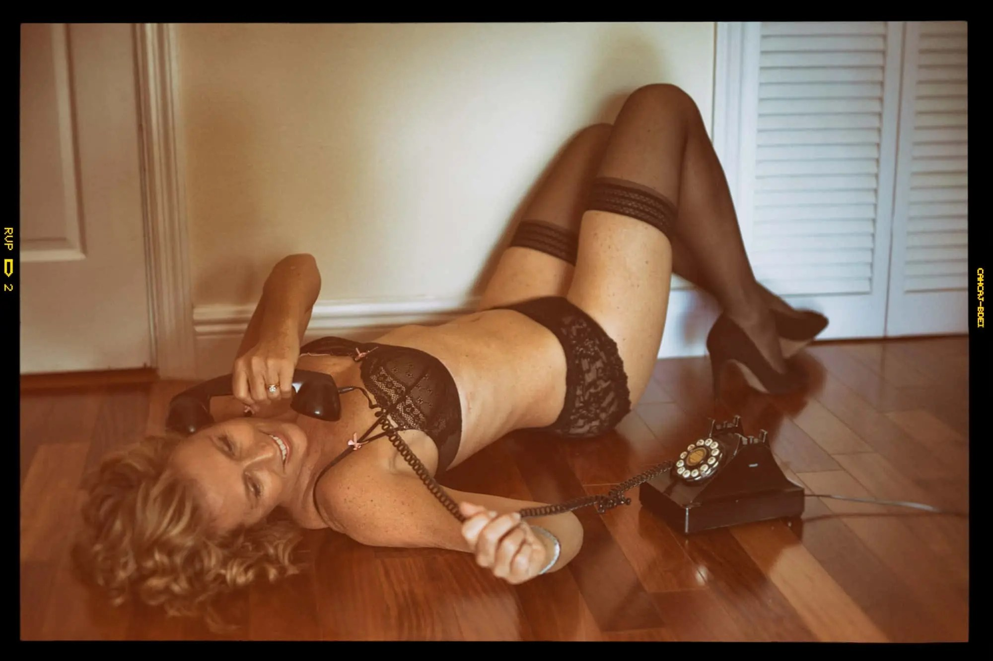 Retro Pin-Up Boudoir Photography