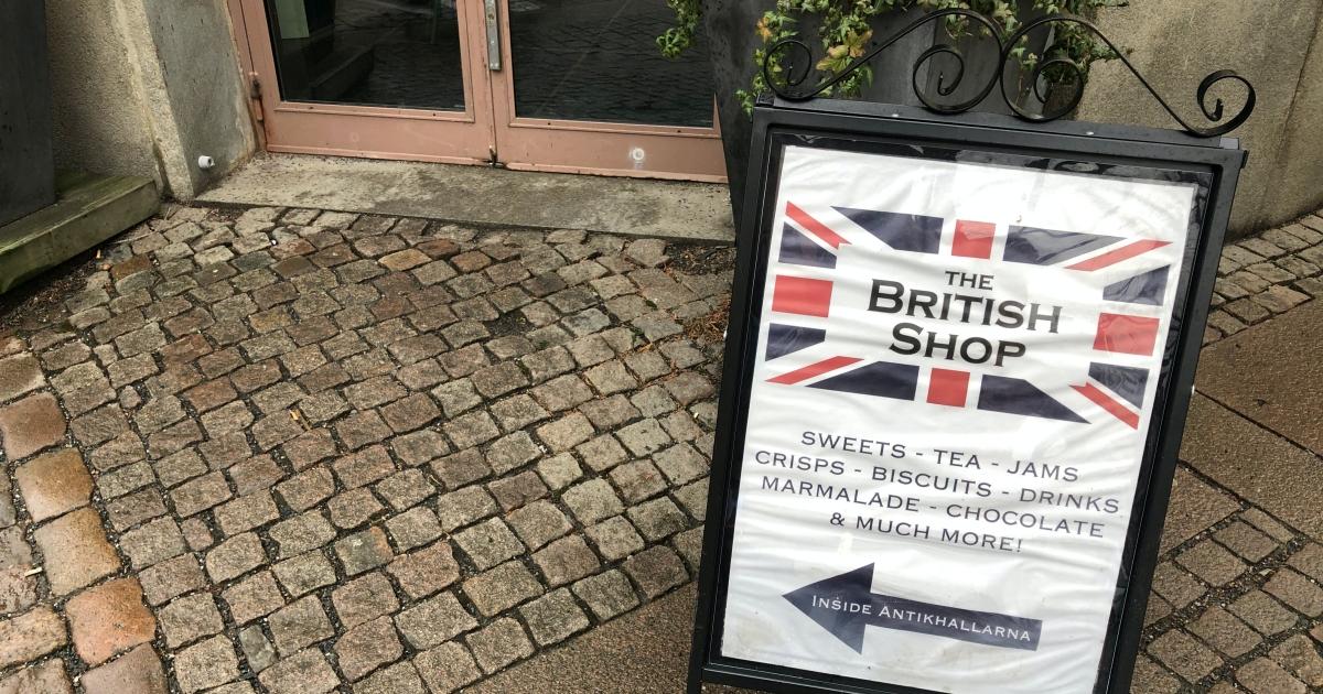 [瑞典哥德堡] 隱藏在古老建築裡的英式小雜貨店