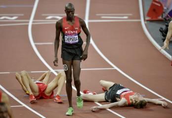 badass kenyan athlete