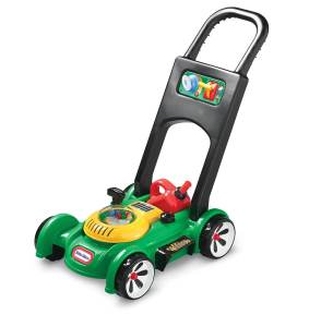 lawn mower from Little Tikes