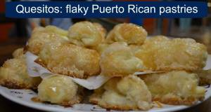 These quesitos are flaky and crispy on the outside with an awesome cream cheese inside.