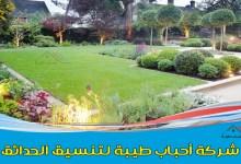 صورة أفضل شركة تنسيق حدائق بالقطيف وتركيب العشب الصناعي