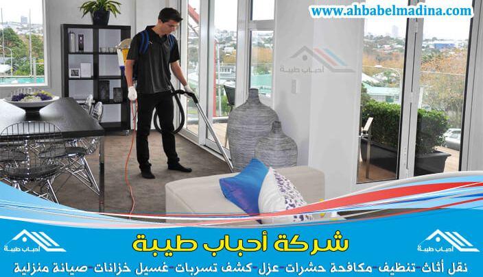 شركة تنظيف شقق بالرس لتنظيف وغسيل الشقق ومحتوياتها من اثاث ومفروشات بأعلى جودة وأقل سعر