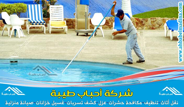 شركة تنظيف مسابح بالطائف لتنظيف المسابح والفلاتر وأفضل شركات تنظيف مسابح بالطائف