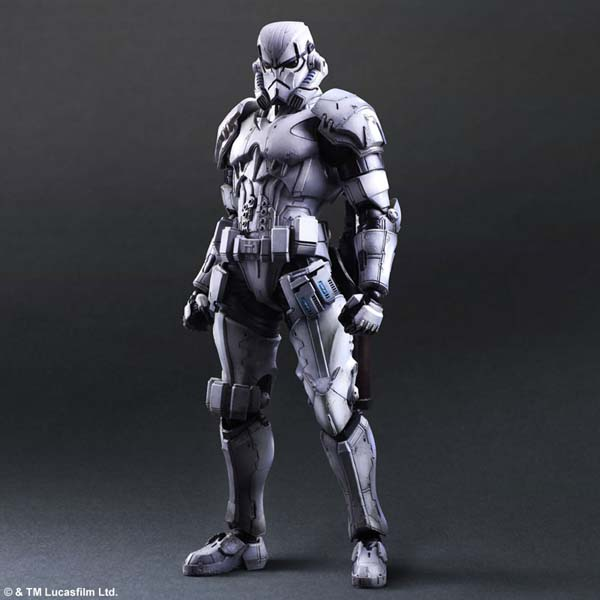 Square Star Wars Stormtrooper Figure