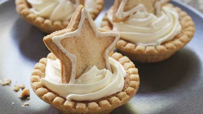 Superstar Eggnog Tarts