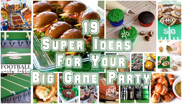 Are you ready for some football? Today we're sharing 19 Super Ideas for Your Big Game Party. These ideas will give you plenty of appetizer inspiration and DIY ideas to get you ready to host the perfect Big Game Party!