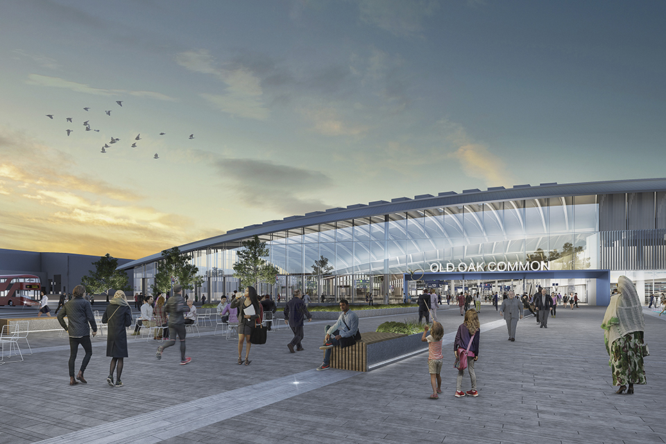 Start of construction at HS2's London super-hub moves a step closer