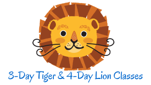 3-Day Tiger & 4-Day Lion Classes Final