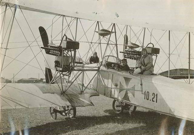 Aircraft type Lohnergroβflugzeug [10], 1915. Wolfgang Klemperer papers, #10955, Box 2, Folder 6. University of Wyoming, American Heritage Center.