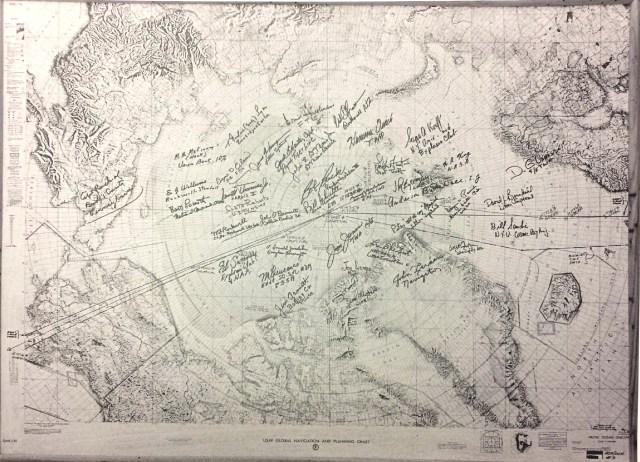 Map of Polar Flight