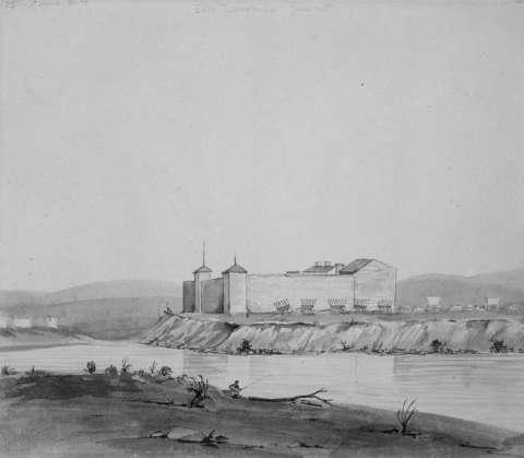 Ft Laramie 1849