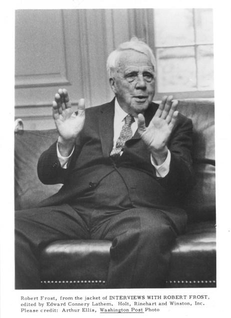 Robert Frost portrait
