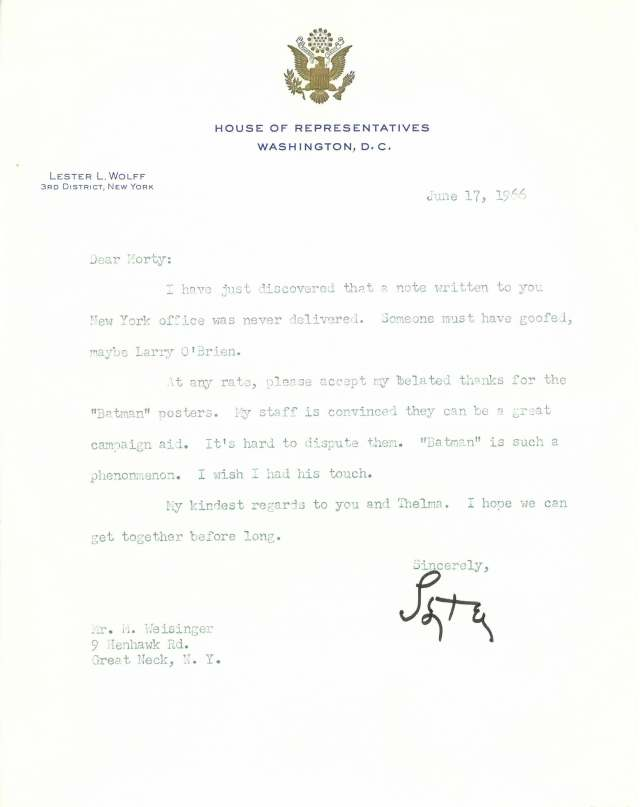 Wolff letter