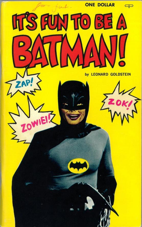Batman joke book by Leonard Goldstein