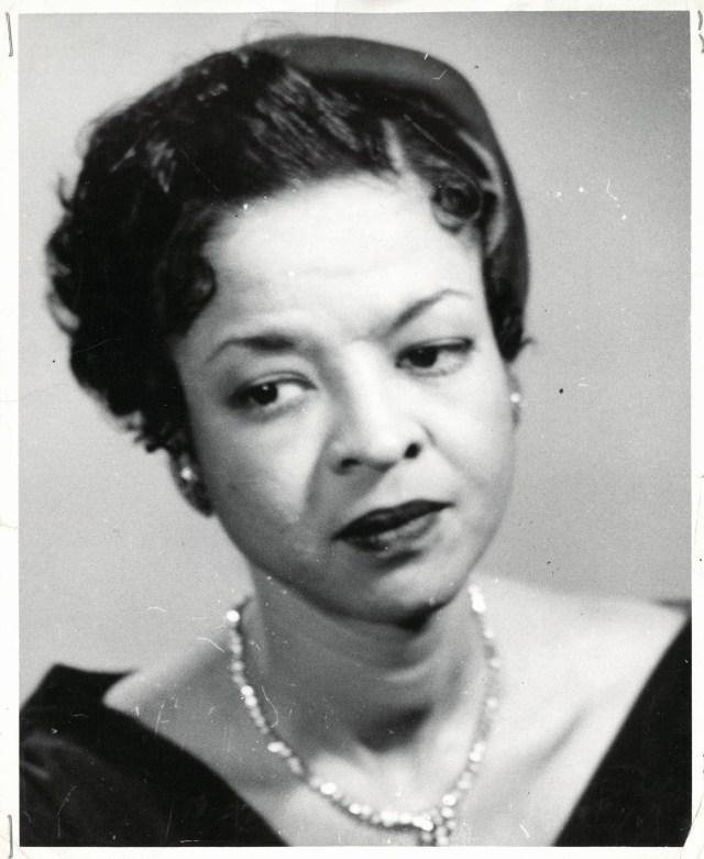 Photo of June Vanleer Williams from the June Vanleer Williams papers at the University of Wyoming's American Heritage Center